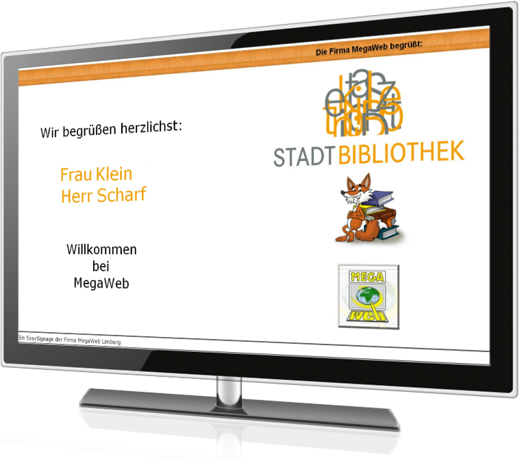 Screenshot Bibliothek